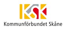 Kommunförbundet Skåne- logga. Klicka här för att gå till deras hemsida