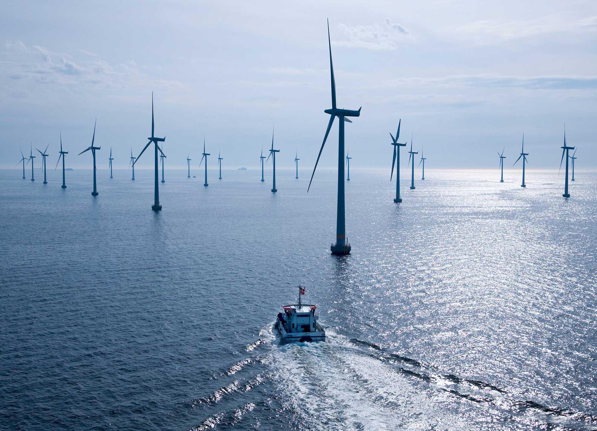 Lillgrunds vindkraftpark till havs