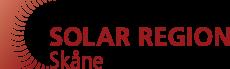 Solar Region Skåne- logga. Klicka här för att gå till deras hemsida