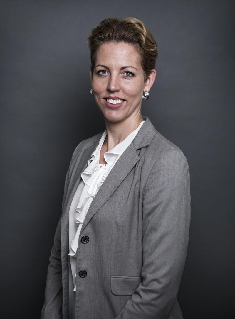 Porträtt på Tove Andersson