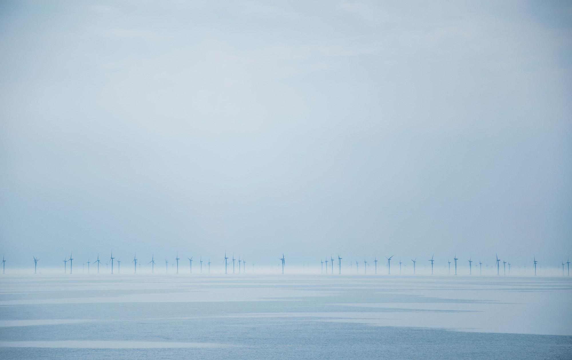 Havsbaserad vindkraftspark