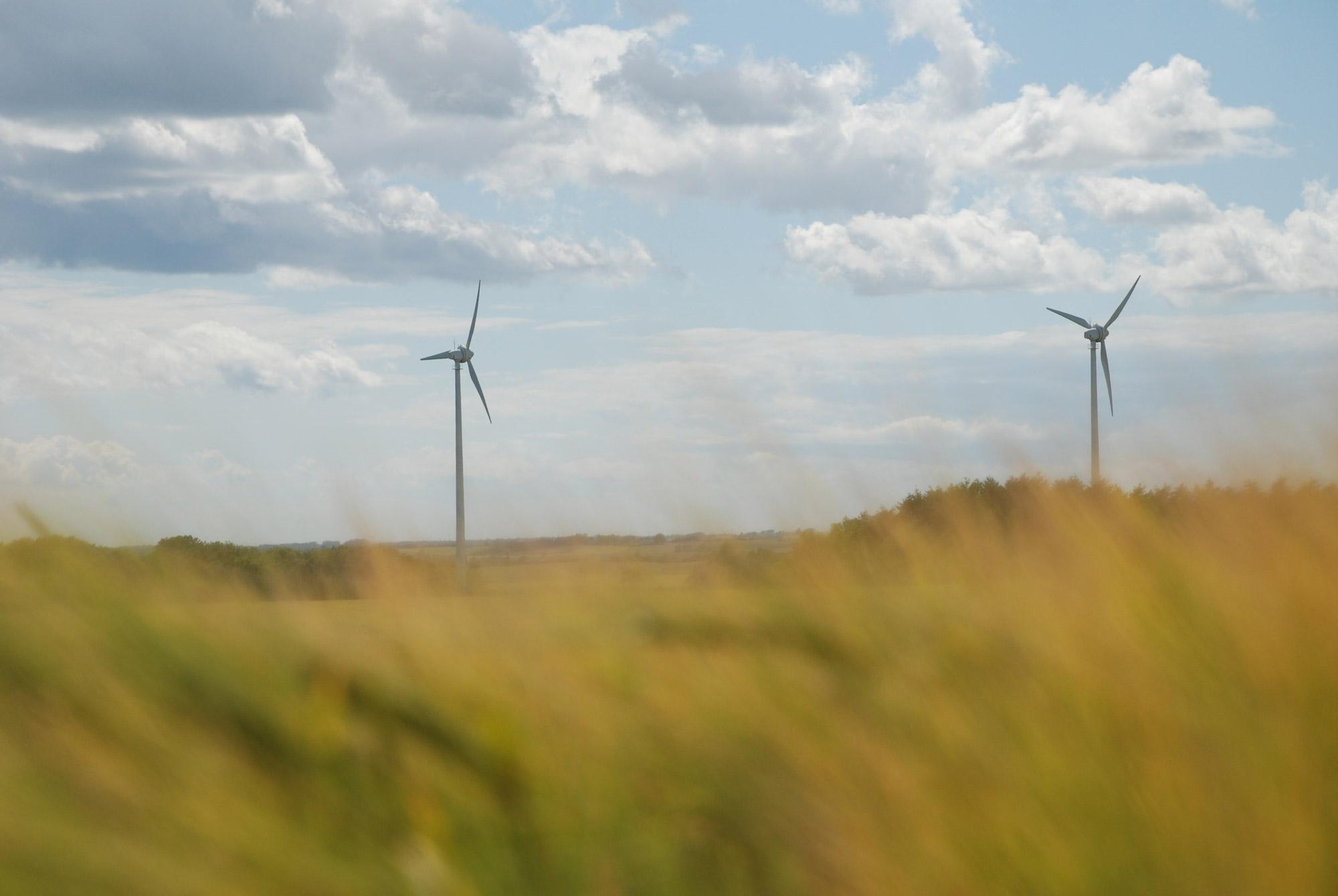 Vindkraftverk i Skåne